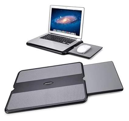 AboveTEK Portable Laptop Desk with Retractable Mouse Pad