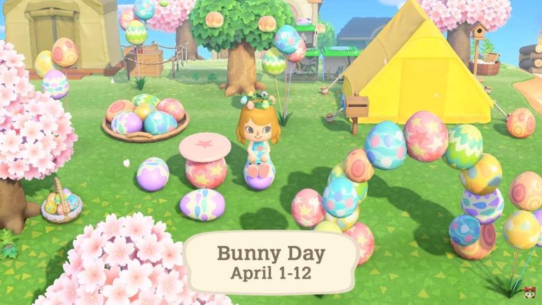 animal crossing new horizons bunny day event start and end time