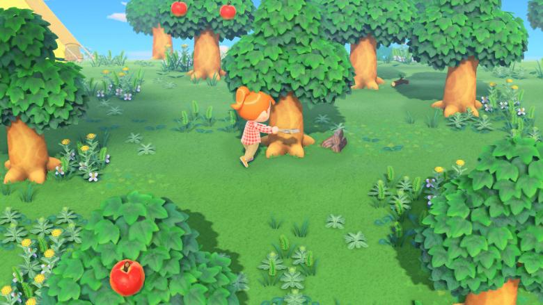 Animal Crossing New Horizons Softwood Hardwood