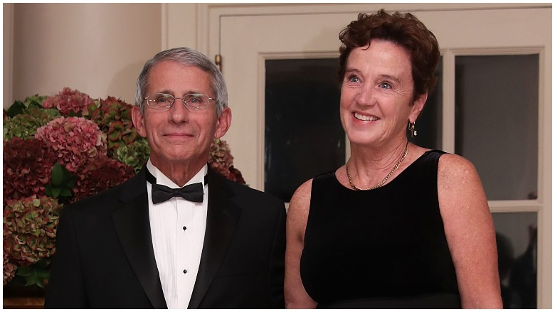 Anthony Fauci and wife