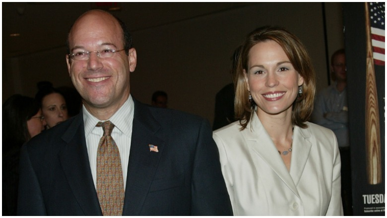 Ari Fleischer and Rebecca Davis