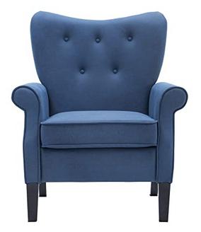 Artechworks Modern Blue Accent Chair