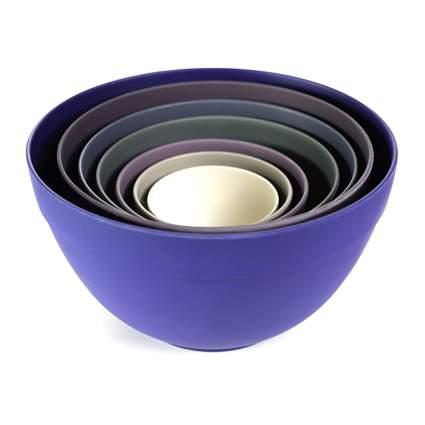 bamboo mixing bowls