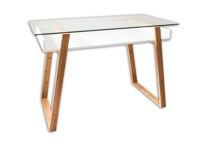 bonVIVO Home Office Contemporary Glass Writing Desk
