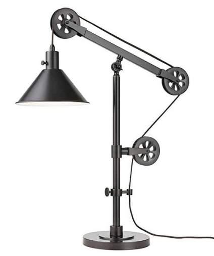 Bridgeport Designs Pulley Table Lamp