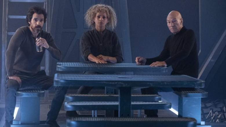 Star Trek Picard Episode 9 Cast
