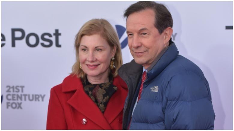 Chris Wallace & wife Lorraine