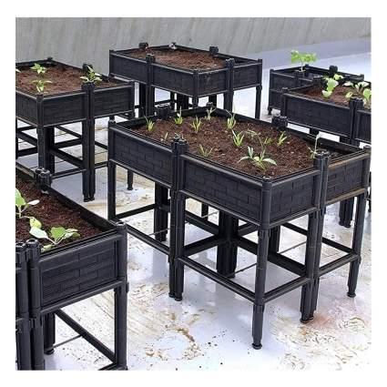 mesh raised planter box