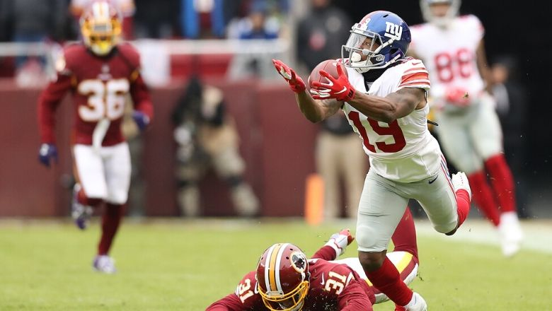 Giants Have Puzzling Explanation for Release of Corey Coleman