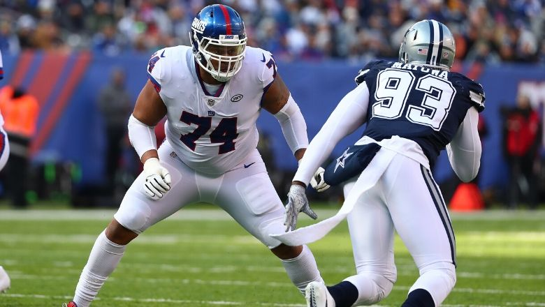 Ereck Flowers signs with the Dolphins
