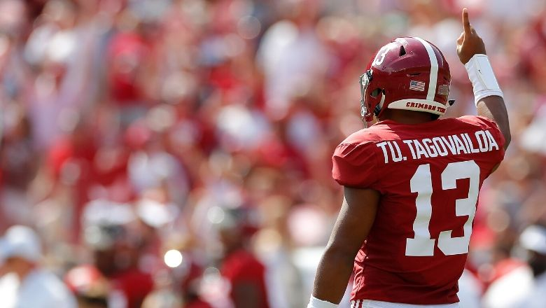 Tua Tagovailoa's health continues to improve as he rises our 2020 NFL mock draft