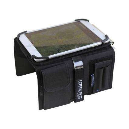 Crystal Pilot Kneeboard with Aluminum Clipboard