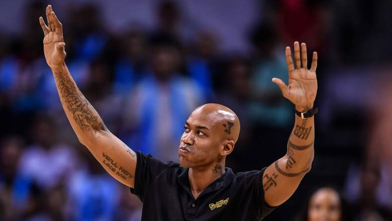 Stephon Marbury in Beijing