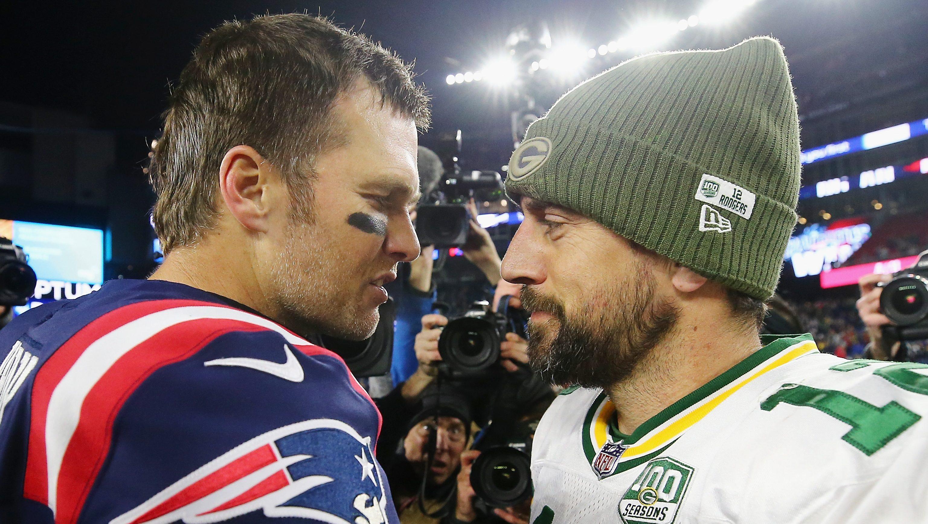 Rodgers vs. Brady Round 3