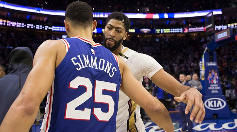 ben simmons anthony davis