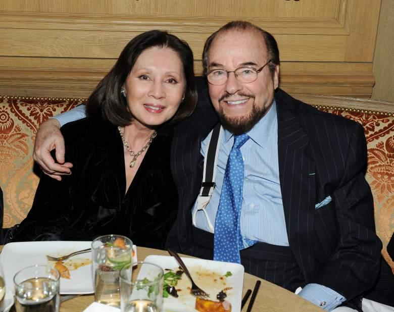 James Lipton and wife Kedakai Turner Lipton