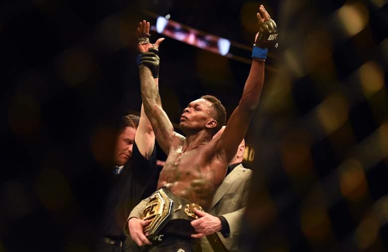 UFC's Israel Adesanya