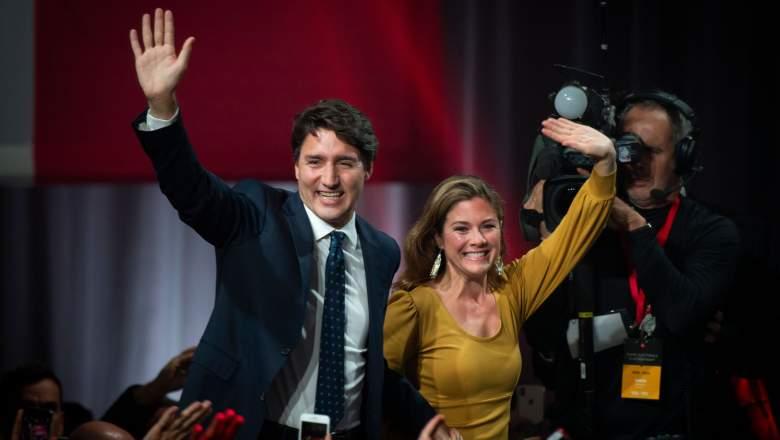 Justin Trudeau and Sophie Gregoire Trudeau