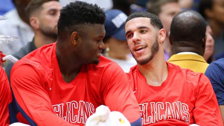 Zion Williamson and Lonzo Ball, Pelicans