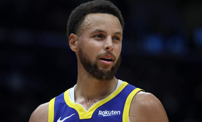 Steph Curry returns to action
