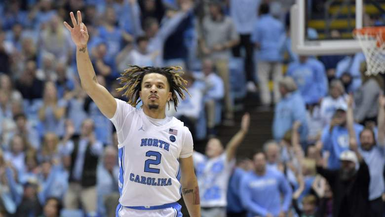 North Carolina Cole Anthony