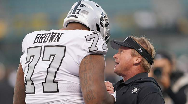 jon gruden trent brown