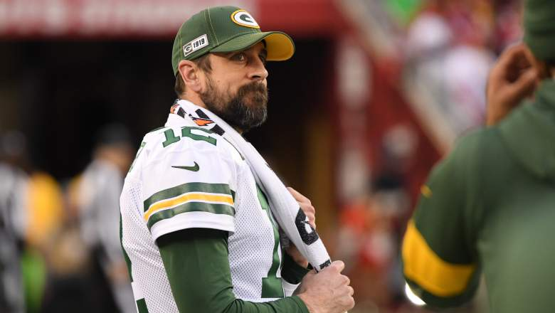 Aaron Rodgers Sounds Off On Packers Possibly Drafting Qb Heavy Com