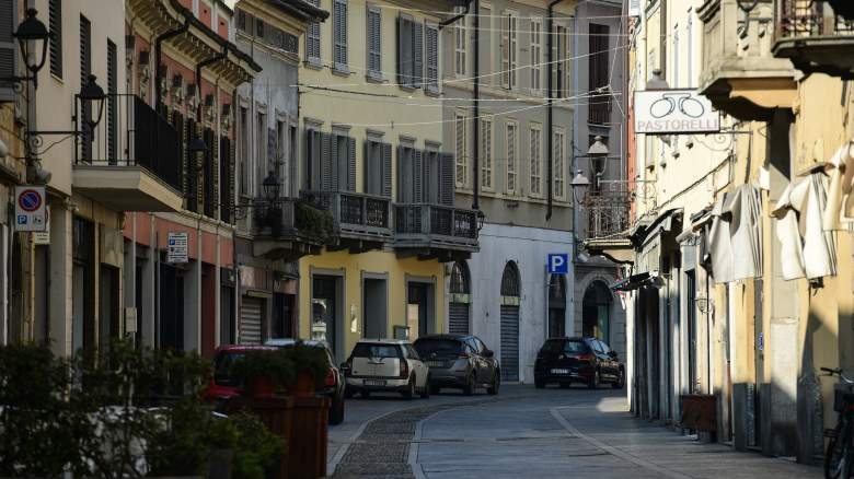 Italy Coronavirus Lockdown