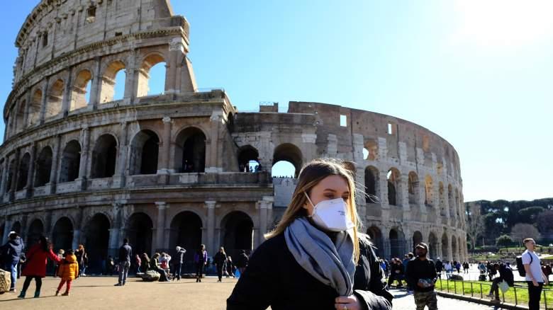 Tourist in Italy During Coronavirus