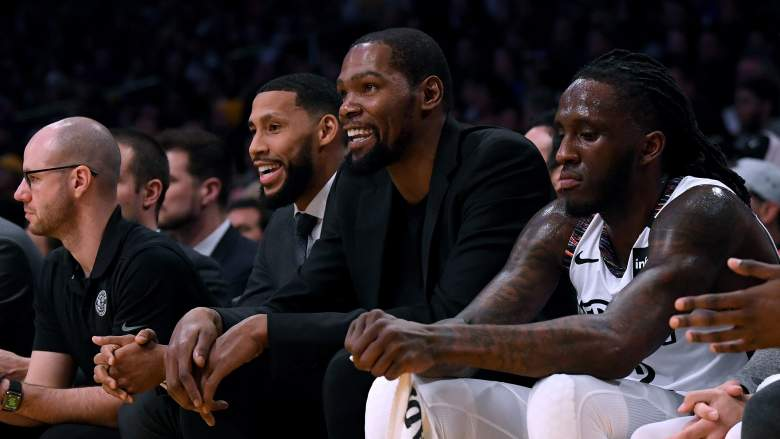 Kevin Durant, one of four Brooklyn Nets to have tested posititve for coronavirus