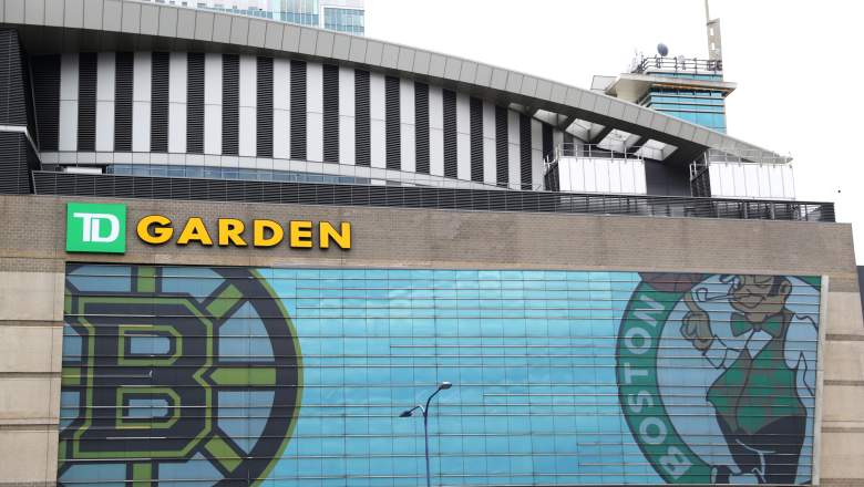 TD Garden, home of the Celtics and Bruins