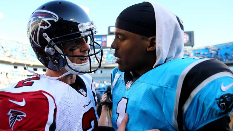 cam newton and matt ryan