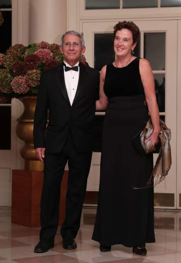 Dr. Anthony Fauci and his wife Christine Grady