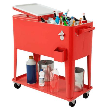 Giantex Bistro Beverage Cooler Cart