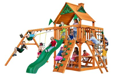 Home Backyard Playground Navigator Swing Set