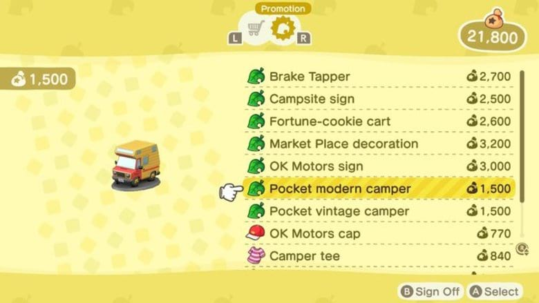 How to Get Animal Crossing Pocket Camp Items in New Horizons