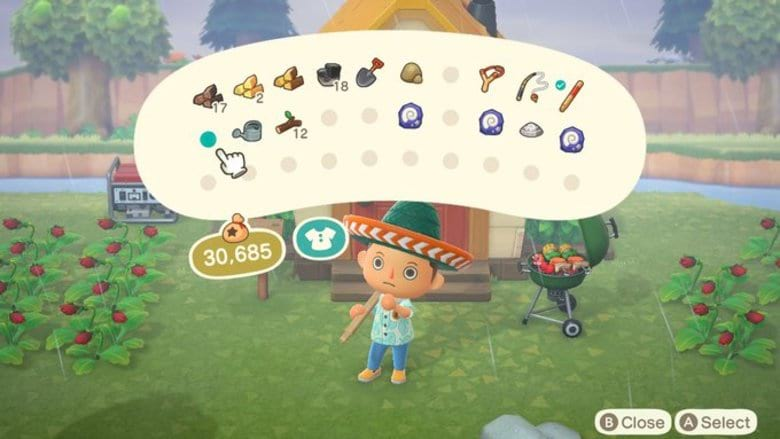 How To Hold More Items In Animal Crossing New Horizons Heavy Com