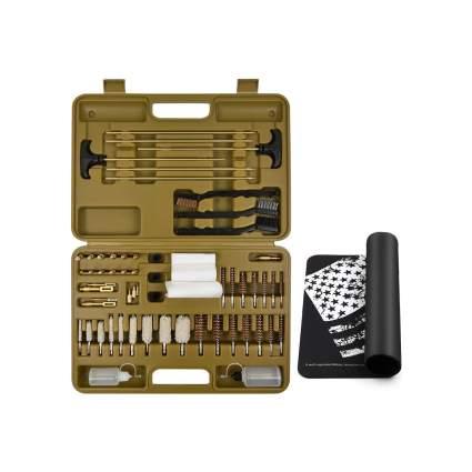 iunio Universal Gun Cleaning Kit With Mat