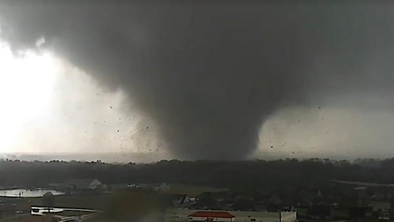 Jonesboro tornado