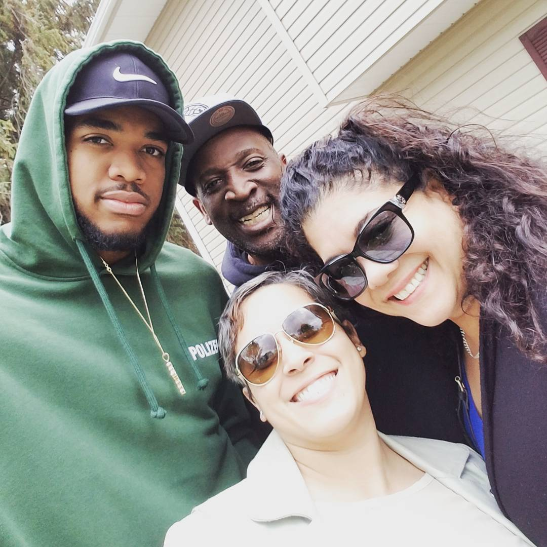 karl anthony towns family