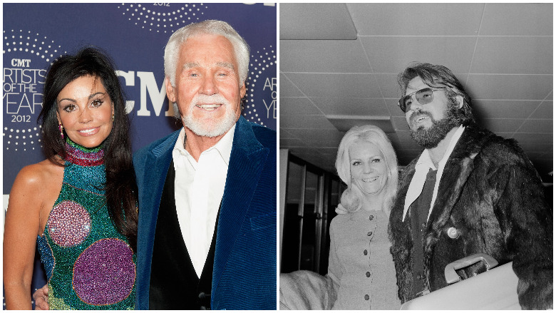 Kenny Rogers Wives How Many Times Was He Married Heavy Com