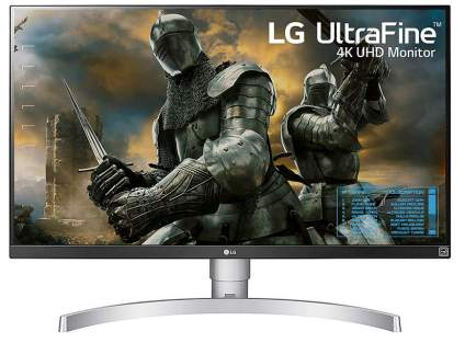 LG 4K LED Monitor and Adjustable Stand