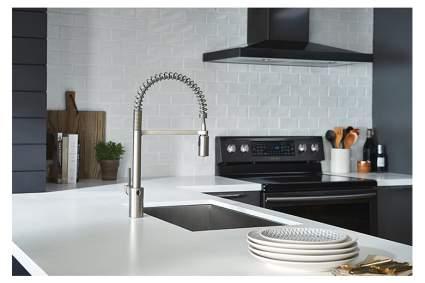 wave sensor touchless kitchen faucet