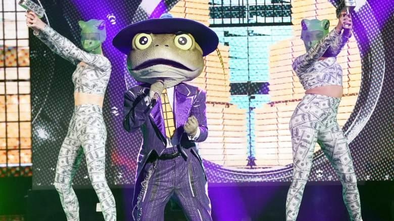 The Masked Singer Frog