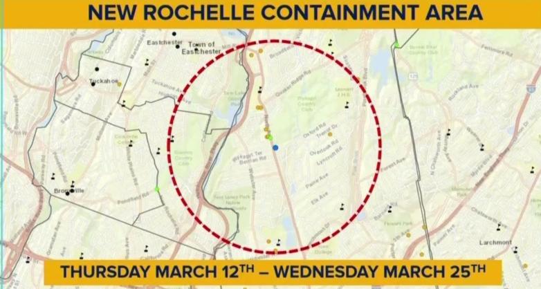new rochelle containment zone