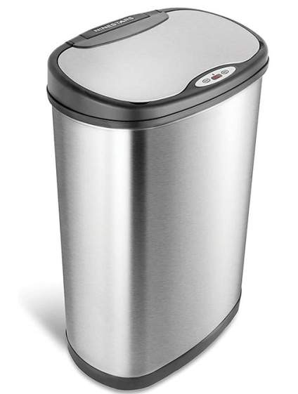 Ninestars Automatic Touchless Motion Sensor Trash Can