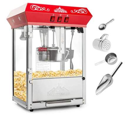 Olde Midway Bar Style Popcorn Machine Maker