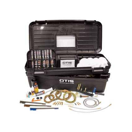 Otis Technology All Caliber Elite Range Box with Universal Gun Cleaning Gear