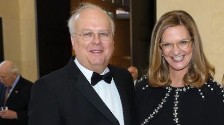 Karl Rove and Wife Karen Johnson