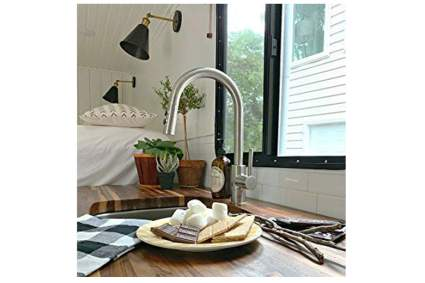 pfister touchless kitchen faucet